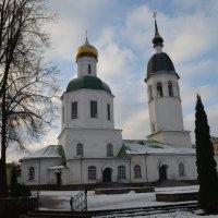 Великие Луки, 1 декабря 2020, Свято-Вознесенский собор... :: Владимир Павлов