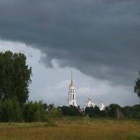 Перед грозой. Воскресенский собор, Шуя. :: Сергей Пиголкин