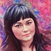 портрет в стиле дримарт :: Елена Лустова (Северинова)