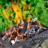 Прозрачное пламя :: Александр