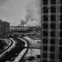 Взгляд из окна... :: Юрий Яньков