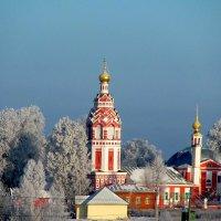 Церковь Покрова Пресвятой Богородицы в Алексино :: sm-lydmila Смородинская