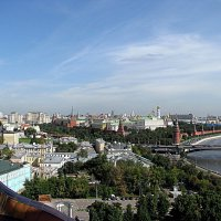 Москва. Вид Москвы с  храма Христа Спасителя. :: Владимир Драгунский