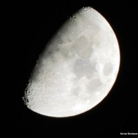 Растущая луна. :: Валерьян Запорожченко