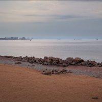 Вечер на заливе... :: Сергей Кичигин