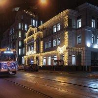 Новогодний трамвай. :: Denis Makarenko