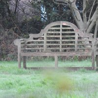 Садовая скамейка :: Natalia Harries