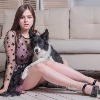 Дама с собачкой :: Сергей Беца