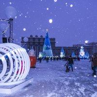 Новогодняя красота на площади Куйбышева... г. Самара... :: Наталья Меркулова