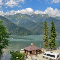 Озеро Рица Абхазия :: Александр Леонов