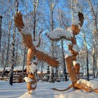 """Парк """"Околица"""" деревянная скульптура :: Вера Андреева"""