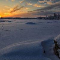 Конец полярной ночи... :: Владимир Чикота