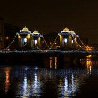Петербург новогодний. Самый красивый мост :: Марина Колядина
