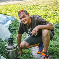 Чаёк с ароматом дымка, шишек и трав! :: Виктор Грузнов
