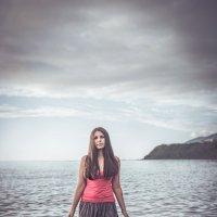 девушка в море :: Яна Пикулик