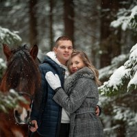 Свидание в лесу :: Ольга Семина