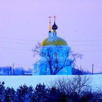 Петропавловская церковь - Церковь Петра и Павла в Чернокоровском :: Татьяна Грабежева