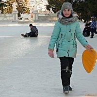 Мороз забавам зимним не помеха! :: Андрей Заломленков