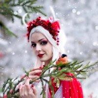 Фотоссессия со снегирями :: Ирина .