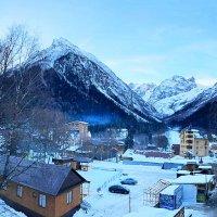Утро в горах. :: Александр Владимирович Никитенко