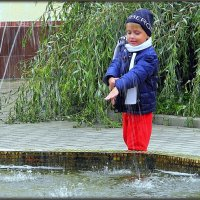 Поймать дождик :: Михаил