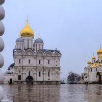 """""""сосиска"""" на Соборной Площади Московского Кремля :: Георгий А"""