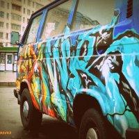 Красочный автомобиль :: Сашко Губаревич