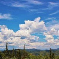 Огромное небо :: Сергей Чиняев