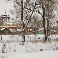 Белым снегом замело. Нерехта . :: Святец Вячеслав