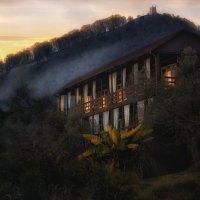Домик в горах.. :: Лилия .