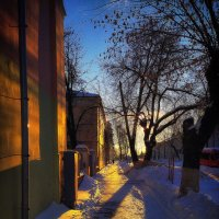 Февраль. Снег :: Сергей Землянский