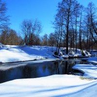 Течет речка средь глубоких снегов :: Григорий охотник