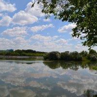 У озера...Небеса. :: Георгиевич