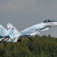 Су-35 взлет :: Александр Святкин