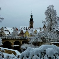 Вот такие снега  стояли  в  начале февраля :: backareva.irina Бакарева