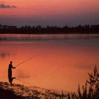 Рыбалка на закате !!! :: Николай Кондаков