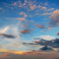 Разноцветное небо :: sm-lydmila Смородинская