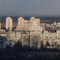 Мартовский снежный заряд :: Олег