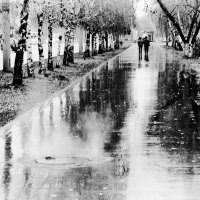Дождь в городе :: Сергей Вишняков