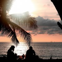 Закат на Сиамском заливе. :: Рустам Илалов