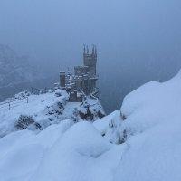 Ласточкино гнездо зимой :: Сергей Титов
