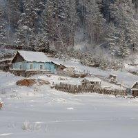 Зима на кордоне. :: Марина Фомина.