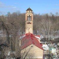 Византийская колокольня в Москве :: Александр Чеботарь