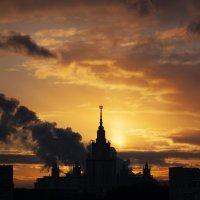 Университетские закаты. :: Alexandr Gunin