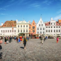 Ратушная площадь. Таллин. Эстония. :: Олег Кузовлев