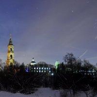 Николо-Берлюковская пустынь (зима , ночь ,2013г.) :: Сергей Дружаев