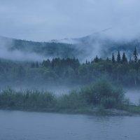 Туман на Оне :: Ольга Чистякова