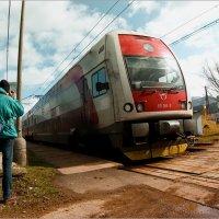 он любит фотографировать поезда :: Daniela Dluhošová