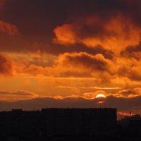 Огненный закат :: Татьяна Р