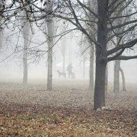 В городе - туман! :: Валентина  Нефёдова
